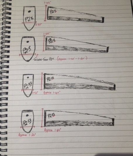 P2 grip sketches
