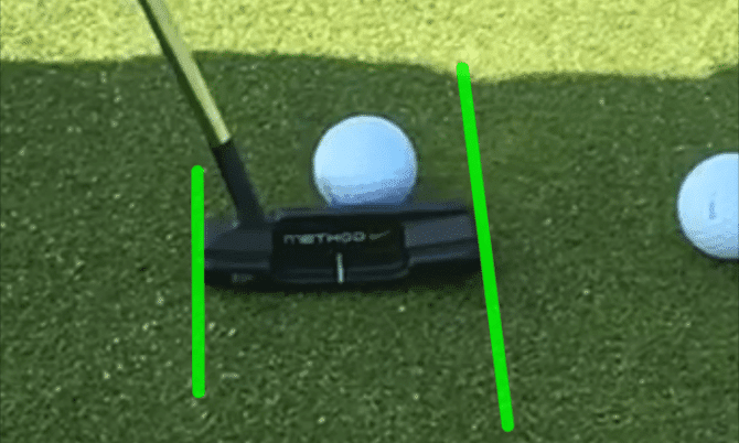 Putting Tips :  Aligning Your Putter With The Ball