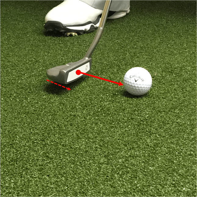 sweetspot improving your putting
