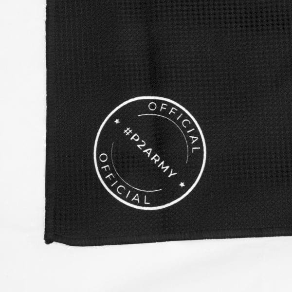 official golf towel